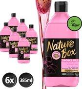 Nature Box Amandel Douchegel Vegan 385ml - 6 stuks - Voordeelverpakking