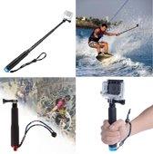 Waterproof Universele Action Camera Selfie Stick - Handheld Selfie Stok Monopod Pole Mount Voor De GoPro Hero 5/4/3/2/1 Cam BLAUW