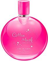 MULTI BUNDEL 3 stuks Ulric De Varens Cotton Musk Eau De Perfume Spray 100ml