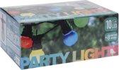 Feestverlichting met 10 gekleurde bolletjes met 30 LED lampen met 8 lichtfuncties (9.5M)