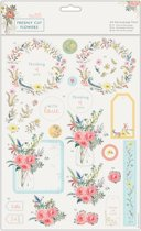 A4 Decoupage Pak - Freshly Cut Flowers - With Love