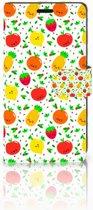 Sony Xperia XZ | Sony Xperia XZs Bookcase Design Fruits