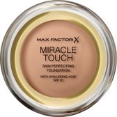 Max Factor Miracle Touch foundationmake-up Compacte behuizing Poeder 11,5 g