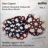 Derendorf, Gabriele / Kern, Krista - Works Violoncello & Piano Vol 2