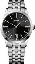 Hugo Boss Black Classic HB1513133 Horloge - Staal - Zilverkleurig - 42 mm