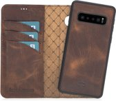 Bouletta Afneembare 2-in-1 BookCase Samsung Galaxy S10 - Vintage Brown