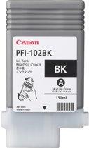 Canon PFI-102BK - Inktcartridge / Zwart
