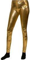 Gouden legging S/m