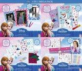 Disney Frozen - 4 In 1 Mega Pack