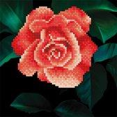 50445 DIAMOND ART(Powered by Diamond Dotz) - 20.32 x 20.32cm Kits Rose