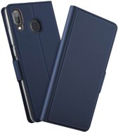 TPU Wallet hoesje voor Samsung Galaxy A40 - blauw
