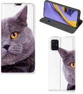 Samsung Galaxy A51 Hoesje maken Kat