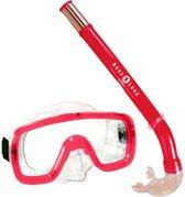 Aqua Lung Sport Peeka Tonga Snorkelset Kinderen Rood
