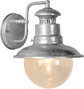Lucide FIGO - Wandlamp Buiten - Ø 21,3 cm - E27 - IP44 - Zink