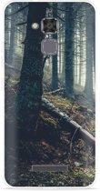 Asus Zenfone 3 Max 5.2 inch ZC520TL Hoesje Dark Forest