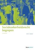 Boek cover Recht begrepen - Socialezekerheidsrecht begrepen van H.C. Geugjes (Paperback)