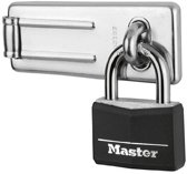 MasterLock Overvalslot + Hangslot - 9140703EURDBLK