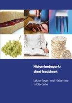 Omslag van 'Histaminebeperkt dieet basisboek'