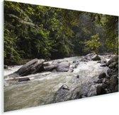 Bahorokrivier bij het Indonesische park Gunung Leuser in Azië Plexiglas 60x40 cm - Foto print op Glas (Plexiglas wanddecoratie)