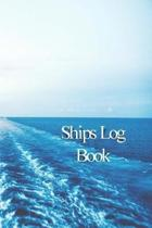 Ships Log Book: Captains Logbook and Trip and Record Keeper