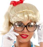Bril met grote ronde glazen