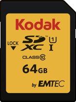 Emtec EKMSD64GXC10K flashgeheugen 64 GB SDXC Klasse 10 UHS-I