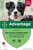 Bayer Advantage 250 - Hond 10-25 kg - 4 Pipetten