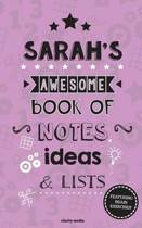 Sarah's Awesome Book of Notes, Lists & Ideas