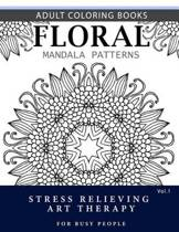 Floral Mandala Patterns Volume 1