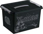 Sunware Q-line Kerst Opbergbox Decor 22L - trays voor 60 kerstballen