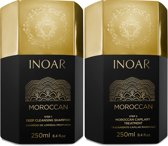 Inoar Moroccan Keratine Treatment Marokkaanse Keratin Behandeling KIT 2x250ml glad &glanzend haar
