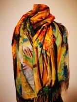 Paco's Cádiz Art Dames Wintersjaals