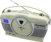 Soundmaster RCD1350BE Retro Kofferradio met verticale CD-speler