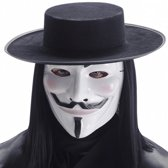 Luxe V for Vendetta masker wit