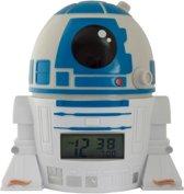 Bulbbotz Wekker Star Wars R2-d2 14 Cm Wit