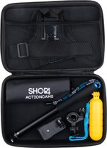 Shop4 - Actioncam Accessoire Set Groot met Opbergtas / Actioncam Accessoires Kit