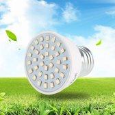 ProLED - Groeilamp LED - 3 stuks - E27 fitting - 72 LED lichtpunten (Blauw + Rood) - Kweeklamp - Bloeilamp - Grow light - Voordeelset - Bevordert de groei van (jonge) plantjes - Kweekbak - Kweektunnel -  Groeilicht - LED Groeilamp