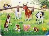 Jonge Dieren - Speelplank Hout