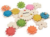 Plan Toys - Gears & Puzzles - Deluxe
