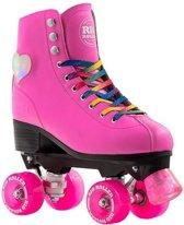Rio Roller Rolschaatsen Figure Lights Dames Roze Maat 38