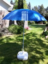 Pincho Beach Parasol Model 180 & Draagtas biedt 99 % UV bescherming  Blauw