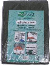 Topprotect Dekkleed Heavy Duty olijfgroen - 4x6m