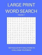 Large Print Word Search Volume 1
