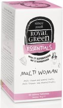 Royal Green Voedingssupplementen Royal Green Multi woman 120tab