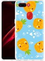 Oppo R15 Pro Hoesje Love Ananas