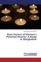 Basic Factors of Women's Potential Poverty