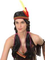 Indiaanse pruik voor dames - Verkleedpruik