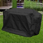 Large Universele BBQ Beschermhoes - Barbecue Grill Hoes Cover - Afdekhoes - Zwart