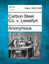 Carbon Steel Co. V. Lewellyn