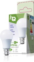 HQ LED Lampe [B22-Sockel, 6,5 Watt (40 Watt), 470 Lumen]